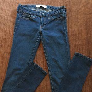 Juniors Women's Hollister Skinny Jeans 0 24 29